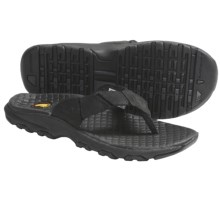 Montrail Ilikai Sandals - Flip-Flops, Leather (For Men) in Black - Closeouts