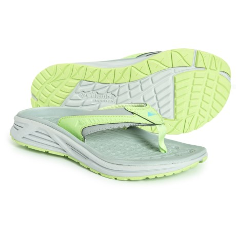 d4e91db35ee2 Montrail Molokini III Flip-Flops (For Women) in Earl Grey Coastal Blue