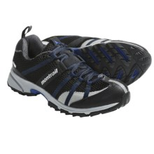Montrail Mountain Masochist OutDry® Trail Running Shoes - Waterproof (For Men) in Black/Blue Chip - Closeouts