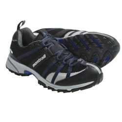 Montrail Mountain Masochist OutDry® Trail Running Shoes - Waterproof (For Men) in Black/Blue Chip