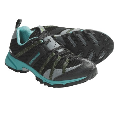 Montrail Mountain Masochist OutDry® Trail Running Shoes - Waterproof (For Women) in Black/Reef