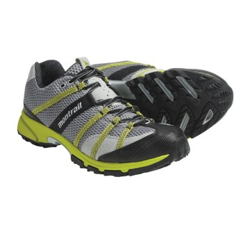 Montrail Mountain Masochist Trail Running Shoes (For Men) in Stainless/Wham
