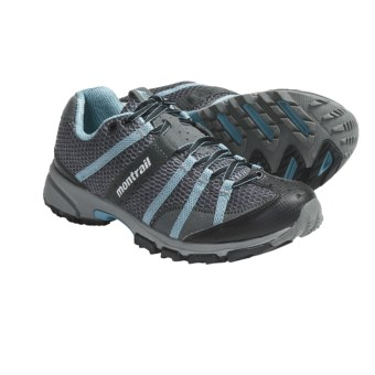 Montrail Mountain Masochist Trail Running Shoes (For Women) in Grill/Blue River