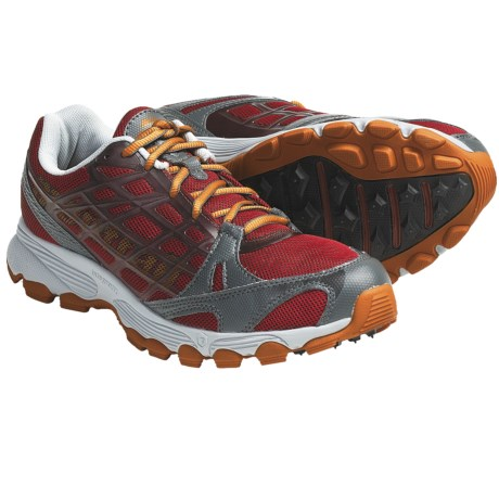 Montrail Rockridge Trail Running Shoes (For Men) in Tbird Red/Tiger