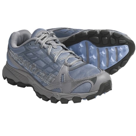 Montrail Rockridge Trail Running Shoes (For Women) in Air/Stainless