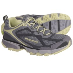 Montrail Sabino Trail Running Shoes (For Women) in Cool Grey/Lemon Mist
