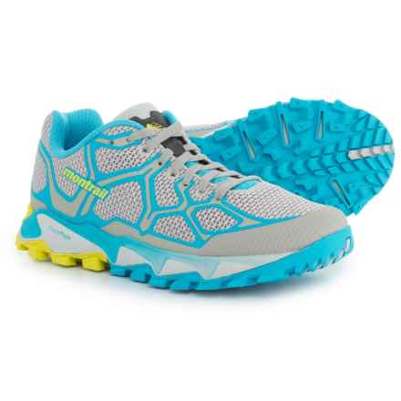 Montrail Trans Alps F.K.T. Trail Running Shoes (For Women) in Cool Grey/Bounty Blue - Closeouts