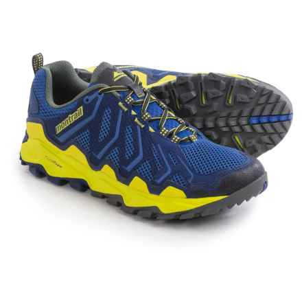 Montrail Trans Alps Trail Running Shoes (For Men) in Azul/Zour - Closeouts