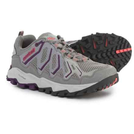 Montrail Trans Alps Trail Running Shoes (For Women) in Light Grey/Glory -