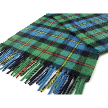 Moon 100% Lambswool Scarf (For Men and Women) in Antique Macleod