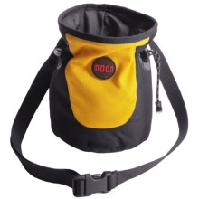 Moon Climbing Trad Chalk Bag in Black/Yellow - Closeouts