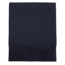 Moon Lambswool Scarf in Navy - Closeouts