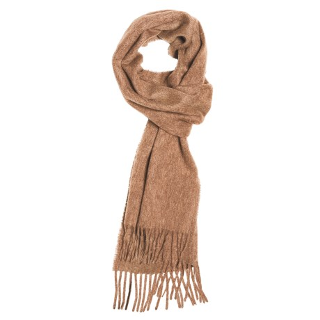 Moon Solid Heather Scarf - Cashmere in Butterscotch