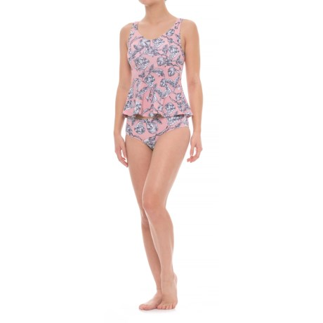 Moontide Sia Australia Flutter Tankini Set (For Women) in Floral