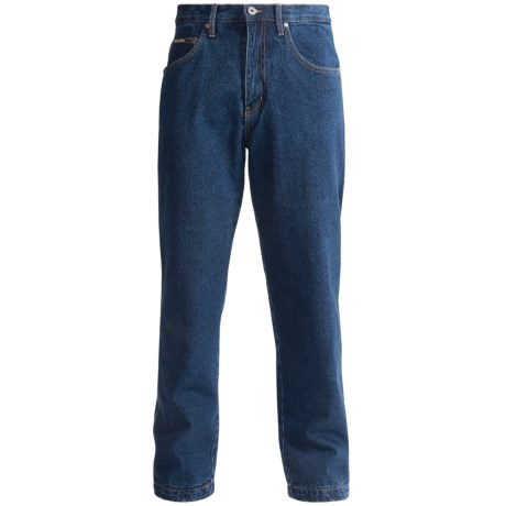 Moose Creek 14.5 oz. Work Jeans - Flannel Lined (For Men) in Denim