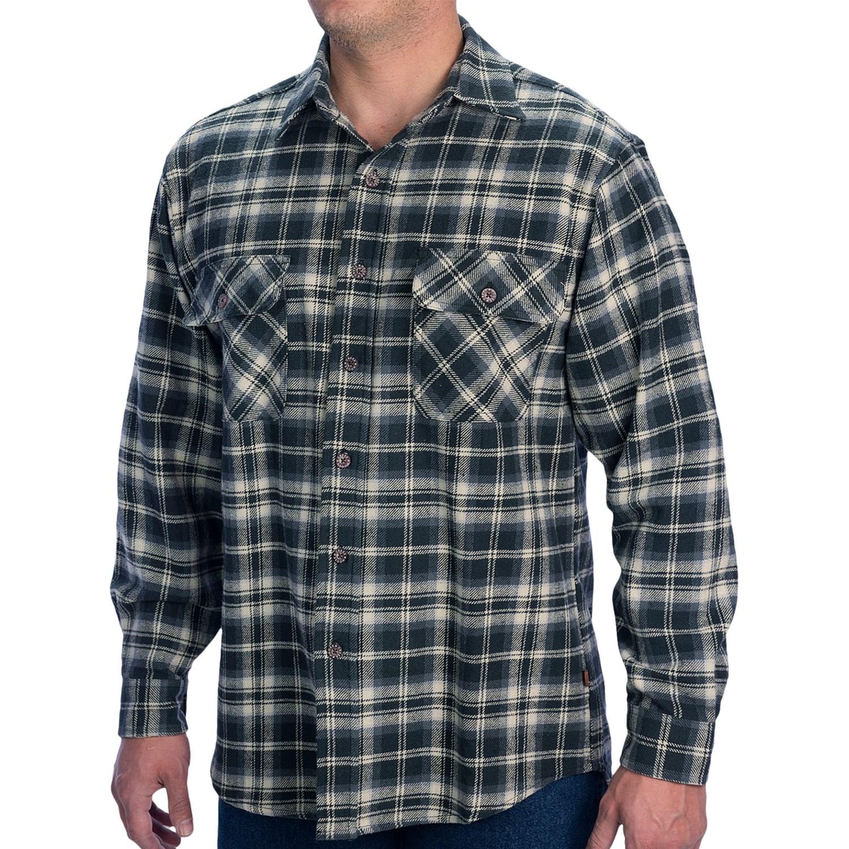 Moose creek brawny plaid shirt for men save 80 for 9 oz flannel shirt