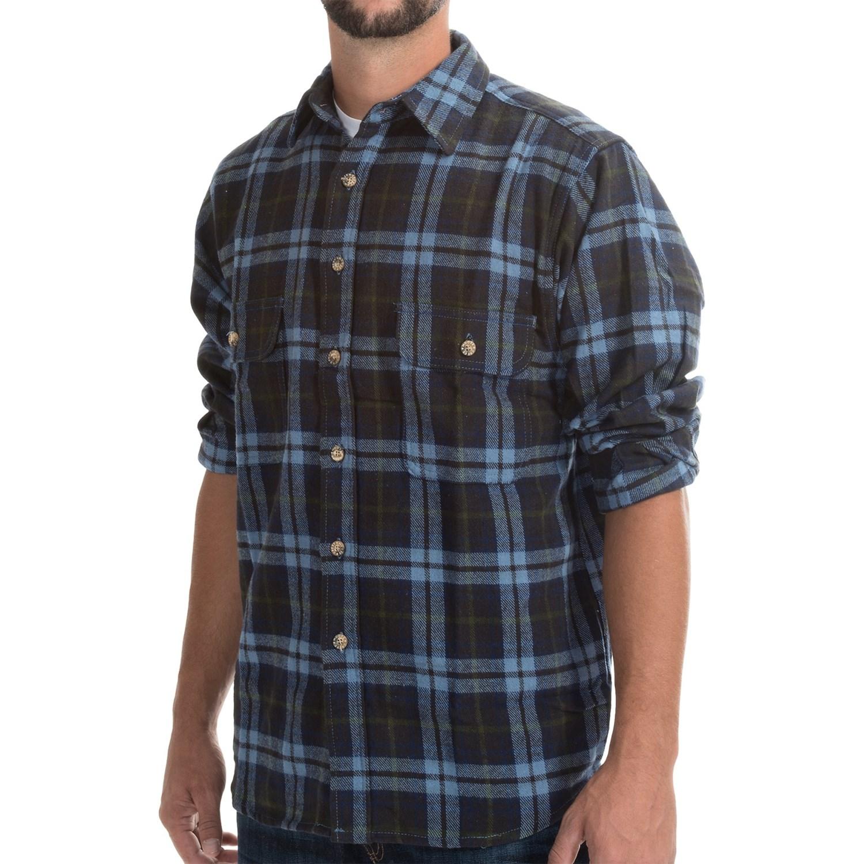 Moose creek brawny plaid shirt for men save 75 for 9 oz flannel shirt