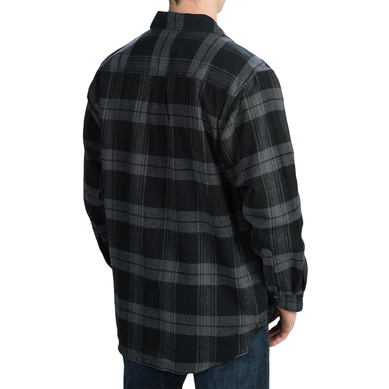 Moose creek brawny plaid shirt for men 5959w save 44 for 9 oz flannel shirt