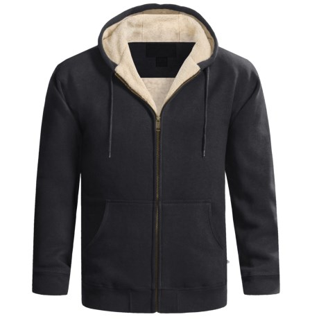 Moose Creek Carbon Creek Hoodie Jacket - Fleece Lining (For Men) in Black