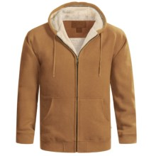 Moose Creek Carbon Creek Hoodie Jacket - Fleece Lining (For Men) in Brown - Closeouts