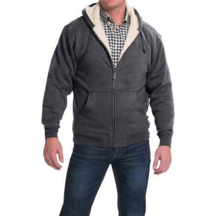 Moose Creek Carbon Creek Hoodie Jacket - Fleece Lining (For Men) in Charcoal - Closeouts