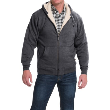 Moose Creek Carbon Creek Hoodie Jacket Fleece Lining (For Men)
