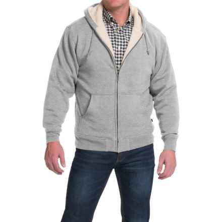Moose Creek Carbon Creek Hoodie Jacket - Fleece Lining (For Men) in Light Grey Heather - Closeouts