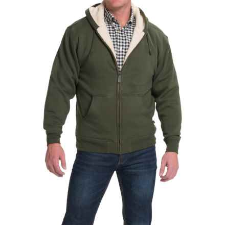Moose Creek Carbon Creek Hoodie Jacket - Fleece Lining (For Men) in Loden - Closeouts