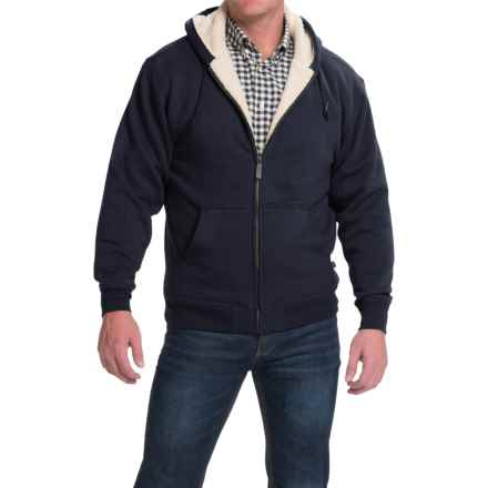 Moose Creek Carbon Creek Hoodie Jacket - Fleece Lining (For Men) in Navy - Closeouts