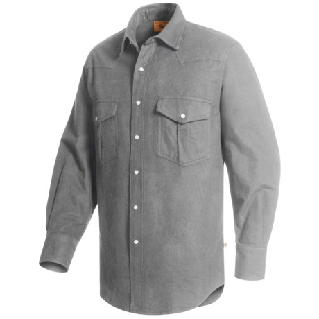 Moose Creek Chamois Western Shirt Long Sleeve (For Men)