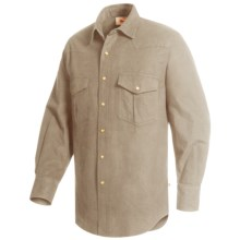 Moose Creek Chamois Western Shirt - Long Sleeve (For Men) in Khaki - Closeouts