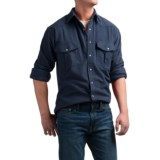 Moose Creek Chamois Western Shirt - Snap Front, Long Sleeve (For Men)