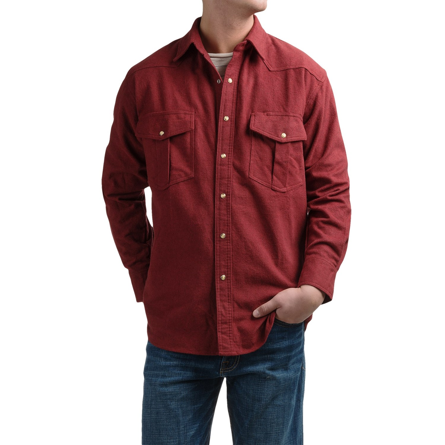 Moose Creek Chamois Western Shirt For Men Save 56