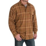 Moose Creek Chinook Twisted Flannel Shirt Jacket - Snap Front (For Men)