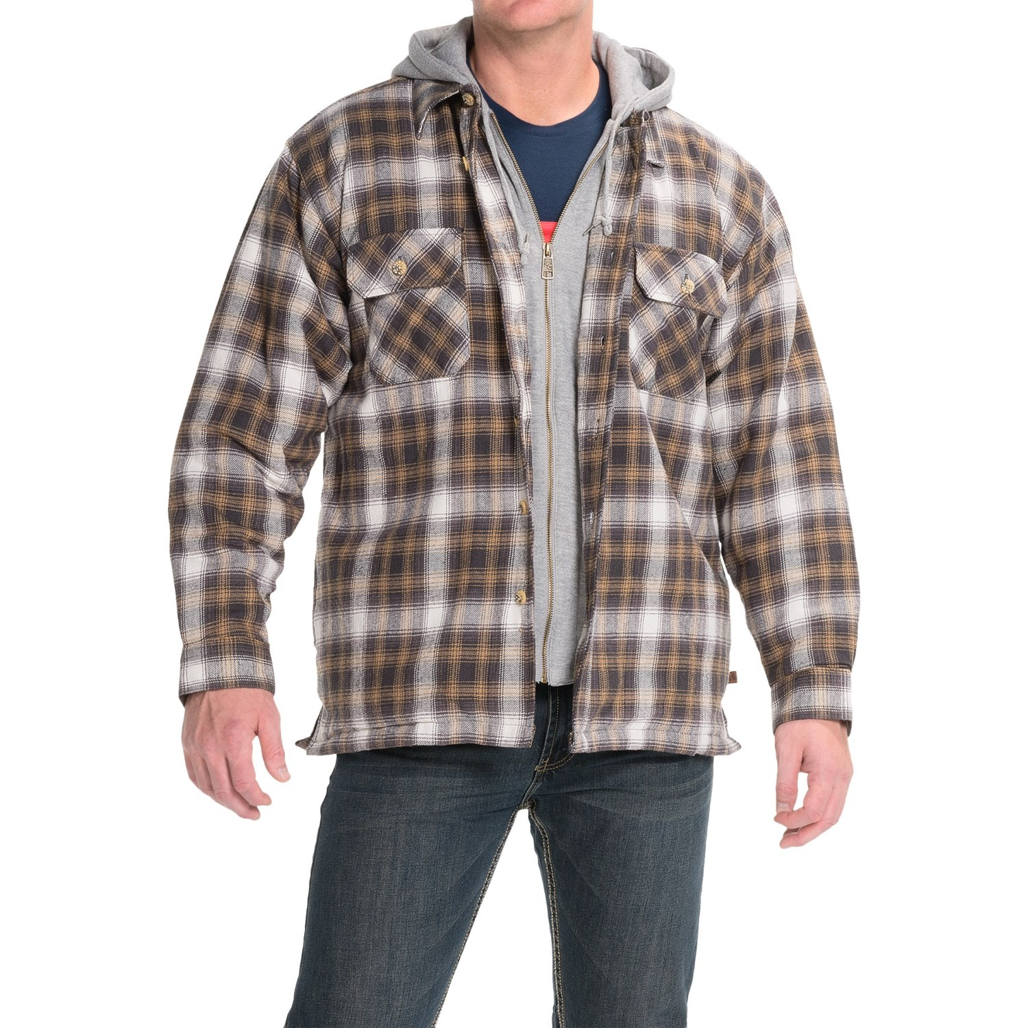 Northwest Territory Men's Flannel Shirt Jacket - Plaid. Sold by Kmart. $ $ Burnside B Men's Two Chest Pocket Quilted Flannel Jacket Black Plaid,XL. Sold by mundo-halflife.tk $ $ Burnside B Men's Two Chest Pocket Quilted Flannel Jacket Black Plaid,3X.