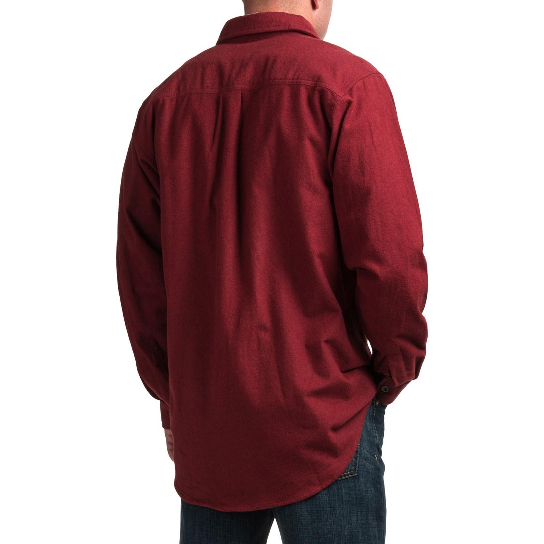 Moose Creek Heather Chamois Shirt (For Tall Men) - Save 69%