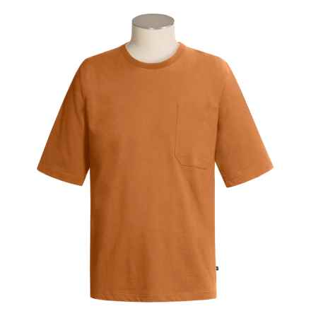 Moose Creek Heavyweight Pocket T-Shirt - Short Sleeve (For Men) in Light Burnt Orange - Closeouts