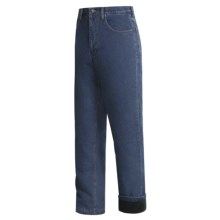 Moose Creek Iron Horse Jeans - Fleece-Lined (For Men) in Denim - Closeouts