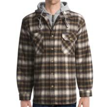 Moose Creek Quilted Hoodie Sweatshirt - Dakota II (For Men) in Earth - Closeouts