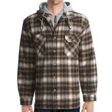 Moose Creek Quilted Hoodie Sweatshirt - Dakota II (For Men) in Earth - Closeouts