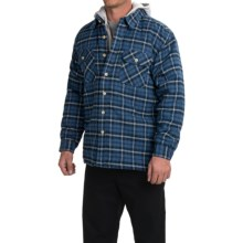 Moose Creek Quilted Hoodie Sweatshirt - Dakota II (For Men) in Navy - Closeouts