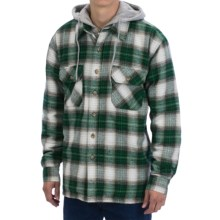 Moose Creek Quilted Hoodie Sweatshirt - Dakota II (For Men) in Pine - Closeouts