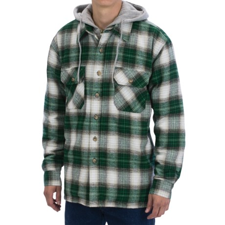 Moose Creek Quilted Hoodie Sweatshirt Dakota II (For Men)