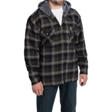 Moose Creek Shasta Hoodie (For Men) in Caviar/Black - Closeouts