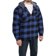 Moose Creek Shasta Hoodie (For Men) in Marine/Buffalo - Closeouts