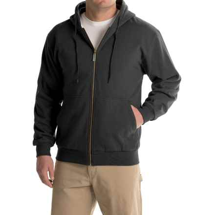 Moose Creek Teamster Thermal Hoodie (For Men) in Black - Closeouts