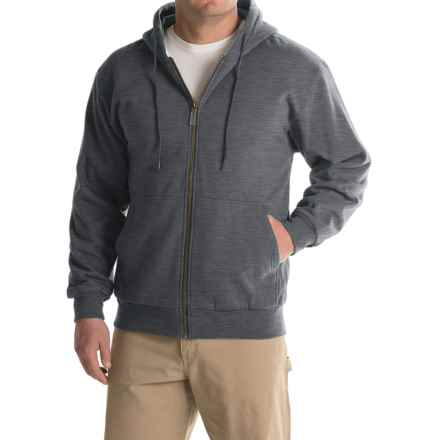 Moose Creek Teamster Thermal Hoodie (For Men) in Charcoal - Closeouts