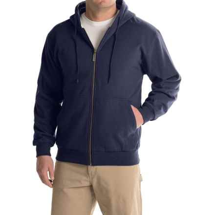 Moose Creek Teamster Thermal Hoodie (For Men) in Navy - Closeouts