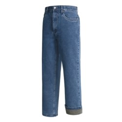 Moose Creek Toledo Jeans - Flannel-Lined (For Men) in Denim