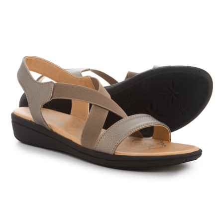 MOOTSIES TOOTSIES Wade Sandals (For Women) in Pewter - Closeouts